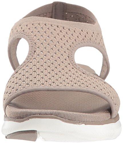 Taupe 2 0 Deja Appeal Women's Sandal Flex Skechers Vu Sport FwzxWfPRqt