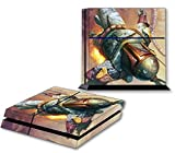 BOBA FETT PS4 Skin Vinyl Decal PlayStation 4 Console Star Wars Sticker 071