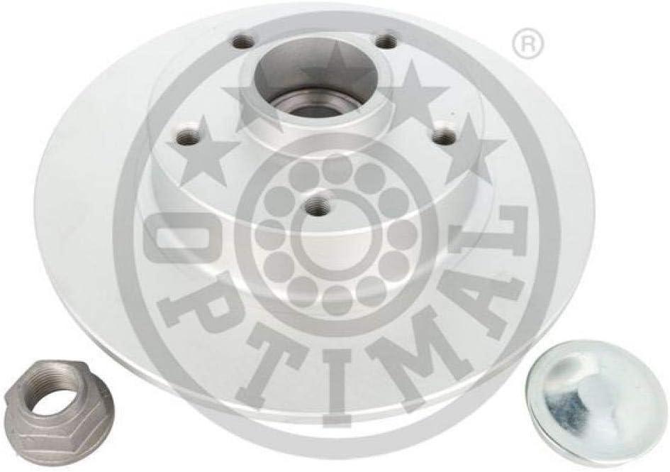 Bremsscheiben rechts links x2 Hinten OPTIMAL 702976BS0 Bremsscheibe Scheibenbremsen