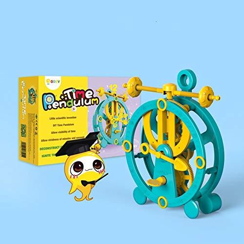 (ODEV Clock Kits DIY STEM Educational Toys Science Physics Kits for Boys Girls Birthday)