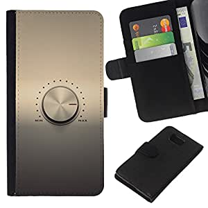 KLONGSHOP // Tirón de la caja Cartera de cuero con ranuras para tarjetas - Perilla de volumen - Samsung ALPHA G850 //
