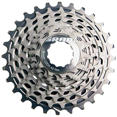 SRAM XG-1090 X-Dome Cassette, Red, 10 Speed