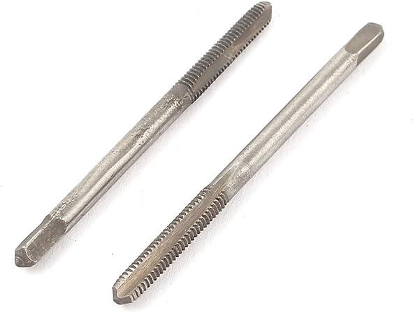 Lot de 2 tarauds HSS M3 3 mm Vis 3 Fl/ûtes machine /à filetage m/étrique plug