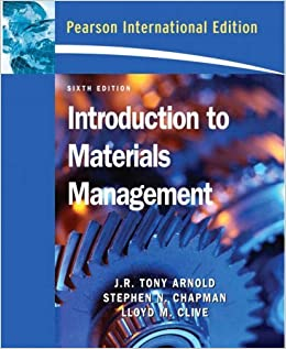 Book Introduction to Materials Management by J. R. Tony Arnold (2007-06-01)
