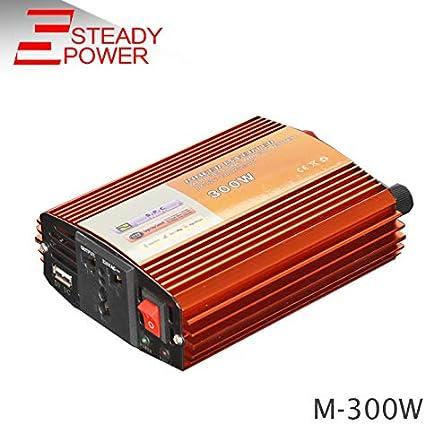 Car Pure Sine Wave Power Inverter Converter 3000W Peak6000W DC 12V to AC