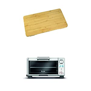 Breville BOV650CB Bamboo Cutting Board for use with BOV650XL Compact Smart Oven with Breville BOV450XL Mini Smart Oven with Element IQ