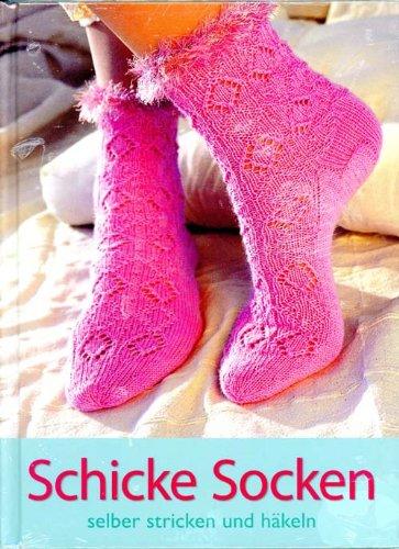 Schicke Socken selber stricken und häkeln