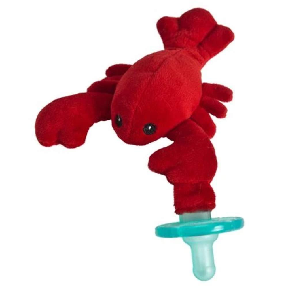 Mary Meyer WubbaNub Infant Newborn Baby Soothie Pacifier ~ Lobbie Lobster