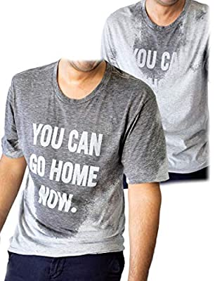 LeRage You Can Go Home Now Hidden Message Gym Shirt Funny Workout Tee