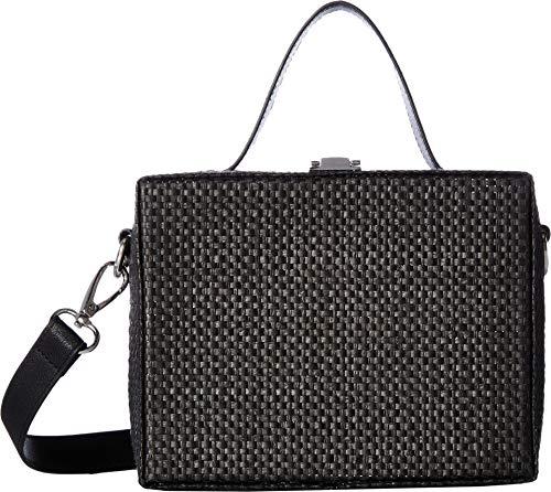Circus by Sam Edelman Women's Straw Box Bag Black One Size