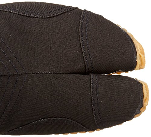 Marugo Chaussures Bottes Tabi Ninja Jikatabi (tabi Extérieur) Matsuri Jogging 12 Noir