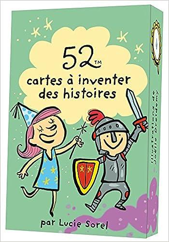 Lire un 52 CARTES A INVENTER DES HISTOIRES pdf