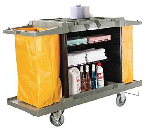 Hotel cart housekeeping room service cart h 39 x l 60 x for Hotel room service cart