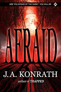 Afraid by J.A. Konrath ebook deal