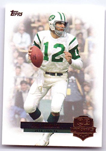 Joe Namath 2012 Topps QB Immortals #QI-JN - New York Jets