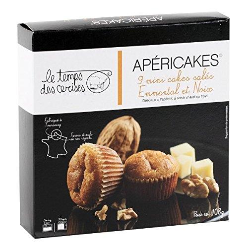 Mini tartas saladas a queso emmental y nueces 108 gr - France Cake Tradition: Amazon.es: Alimentación y bebidas