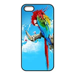 Personalized DIY Parrot Custom Cover Case For iPhone 5, 5S O3T793121