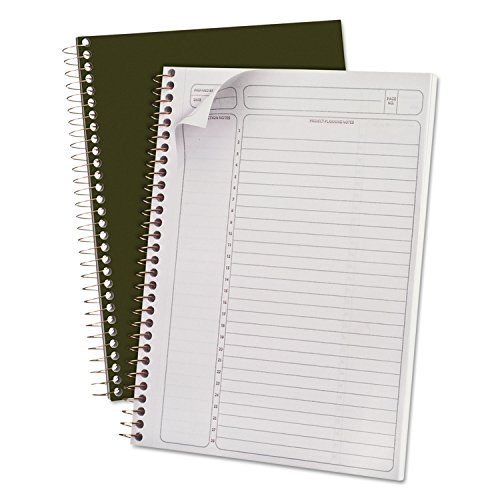 Gold Wirebound Writing Pads - 7