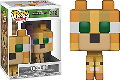 Funko Pop Games: Minecraft-Ocelot (Styles May Vary) Collectible Figure