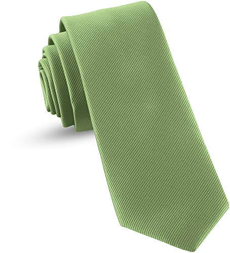 Ties For Boys - Self Tie Woven Boys Ties: Neckties For Kids Formal Wedding Graduation School Uniforms (Sage Green)