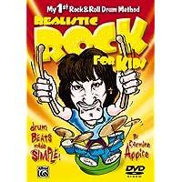 Rock realista para niños (mi primer método de batería de rock & roll): ¡Drum Beats Made Simple! (DVD)