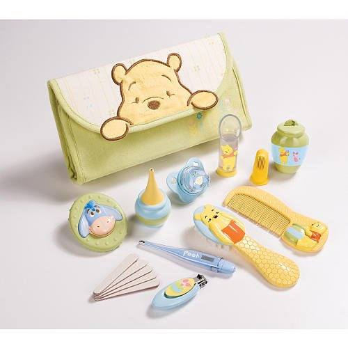 6ddf06df254c Amazon.com   Summer Infant Pooh Health and Grooming Kit Set (Discontinued  by Manufacturer)   Baby Care Products   Baby