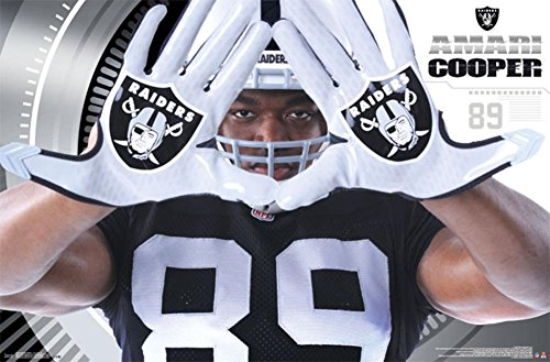 - Trends International RP14250 Oakland Raiders Amari Cooper Wall Poster, 22.375