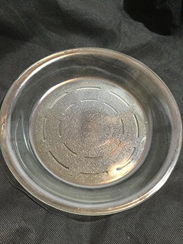 - Vintage Glasbake Clear Glass Pie Plate #245 8.5 inch diameter