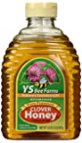 YS Eco Bee Farms Clover Honey Pure Premium - 32 oz (Pack of 2)