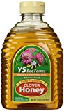 YS Eco Bee Farms Clover Honey Pure Premium - 32 oz (Pack of 3)