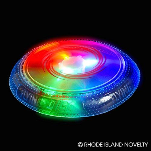 10 Light LED Flying Disc