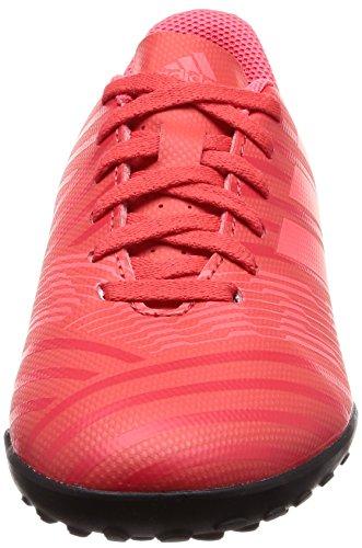 adidas Nemeziz Tango 17.4 TF J, Botas de Fútbol Unisex Niños Naranja (Correa/Rojent/Negbas 000)