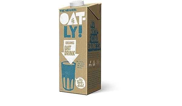 Oatly | Oatly Oat Drink Organic | 6 x 1L: Amazon.es: Alimentación y bebidas