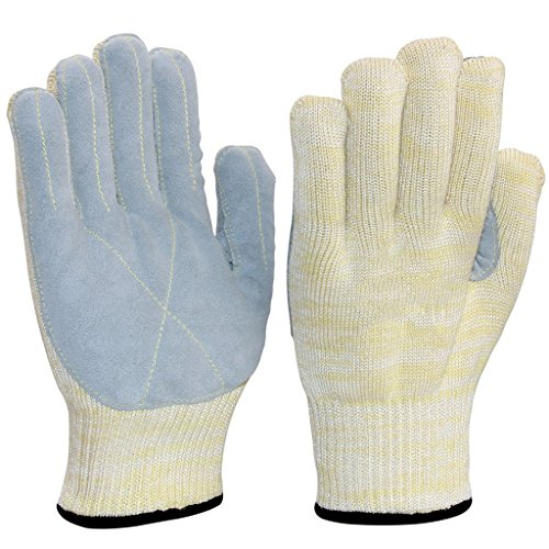 752°F  High Heat Resistant Grill Gloves With Dexterity For Grilling, Cooking, Baking, Barbecue(BBQ), Frying & Welding | Oven Mitts For Kitchen, Smoker, Fireplace, Fire Pit, Campfire & - To Camping What Take List