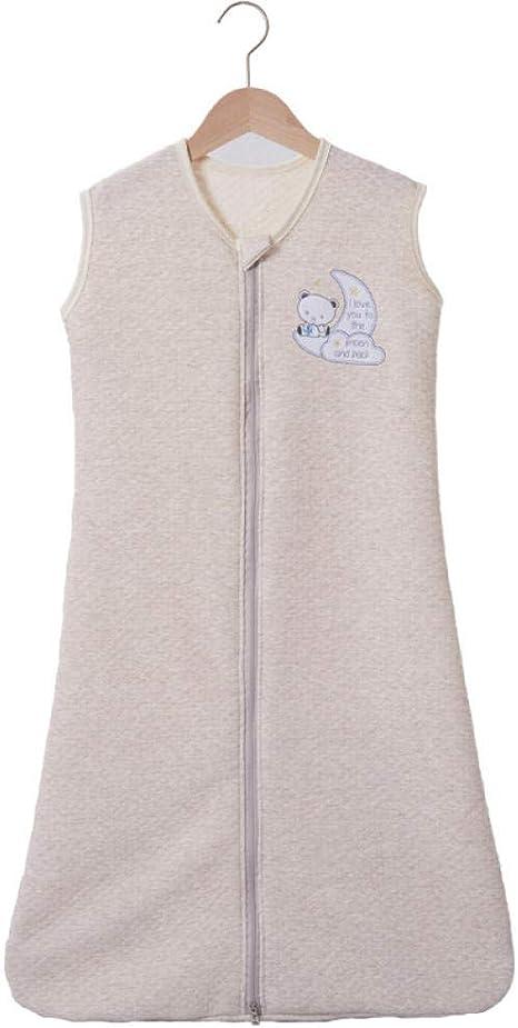 saco de dormir Edredón antideslizante de algodón para bebés recién nacidos cálido saco de dormir para hombres y mujeres 120 cm, 0-36 meses niños: Amazon.es: Bebé