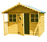 HIGHWOOD Cubby Playhouse - Honey Brown