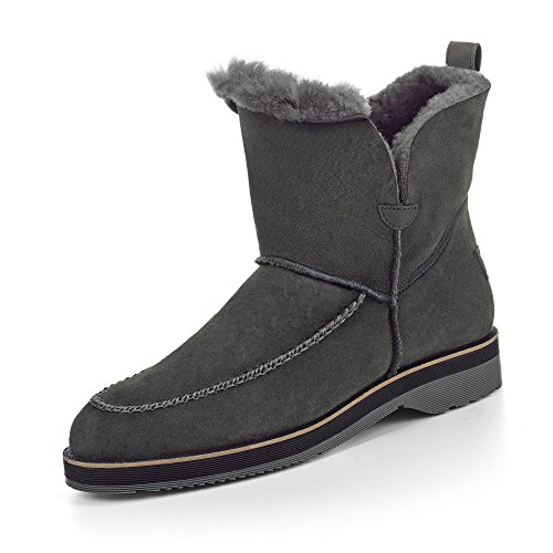 Paul Green Boots, Groesse 3 1/2, Grau
