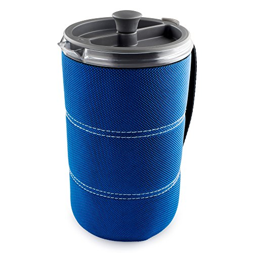 Price comparison product image GSI Outdoors - 30 Fl Oz JavaPress, Blue, Superior Backcountry Cookware Since 1985