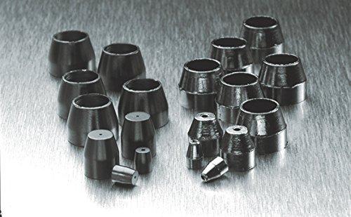 PerkinElmer N9306001 Graphite Capillary Column Ferrule, 2-Hole, 1/16'' Nut Size, 0.32 mm Column Inner Diameter, 0.5 mm Ferrule Inner Diameter (0)