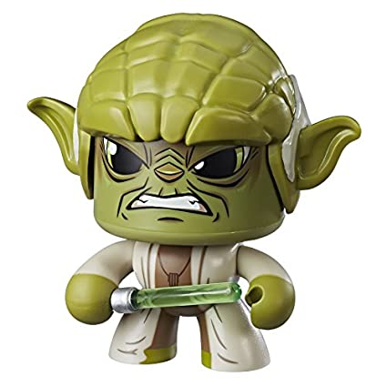Star Wars- Mighty Muggs Figura Coleccionable, Yoda, Multicolor (Hasbro E2179EU4)