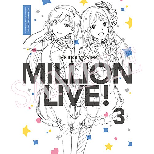 THE IDOLM@STER MILLION LIVE! CARD VISUAL COLLECTION VOL.3 by No Brand