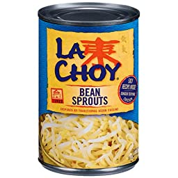 La Choy Bean Sprouts, 14 OZ (Pack of 12)