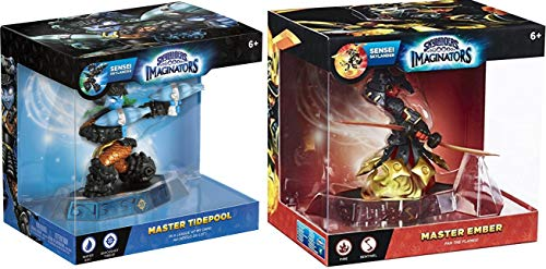 Master Sensei Skylanders Imaginators 2-Character Bundle - Master Ember and Master Tidepool Video Game Set (Ps3 Games Spongebob)