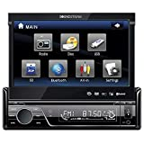 Soundstream VIR-7830B Single-Din Bluetooth Car Stereo DVD Player with 7-Inch LCD Touchscreen (Renewed)