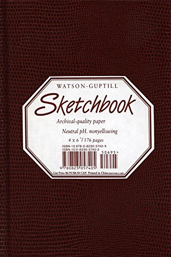 Sketchbook-Burgandy Lizard cover-4x6