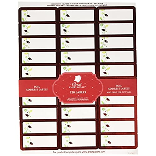 Avery Christmas Labels Amazon