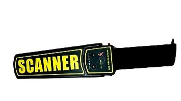 Hire-it Rechargeable Hand Held Metal Detector - Super Scanner