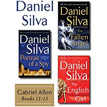 Daniel Silva's Gabriel Allon Collection, Books 11-13: Portrait of a Spy, The Fallen Angel, and The English Girl