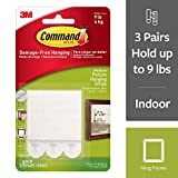 Command Medium Picture Hanging Strips, 3-Strip