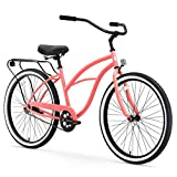 """sixthreezero Around The Block Women's 1-Speed Cruiser Bike, 17"""" Frame/26"""" Wheels"""